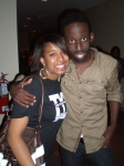 Nicole (deedee's daughter) and Tye Tribbett gospel singer