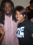Nicole (deedee's daughter) and gospel singer Tye Tribbett