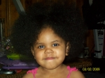 Dimesha Jones age 2 Great-granddaughter of coleman woolfolk Jr.