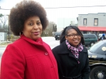 Vicki Clay and Candace Davis (Pat's Granddaughter, Orisa's Daughter) @ MLK Parade Atlanta, GA.