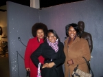Vicki Clay, Candace Davis and Orisa Durggin (Pat's Daughter)at the Apex Museum Atlanta, GA.