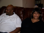 Patricia Clay Coleman and Patrick Clay (Pat's Son) @ Christmas at Orisa's House