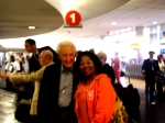 Deb and Bob Barker at LAX