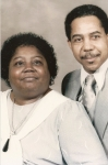 Annie Bell and George Hurt.  The late Annie Bell Hurt is the youngest daughter of Coleman Woolfolk, Sr.